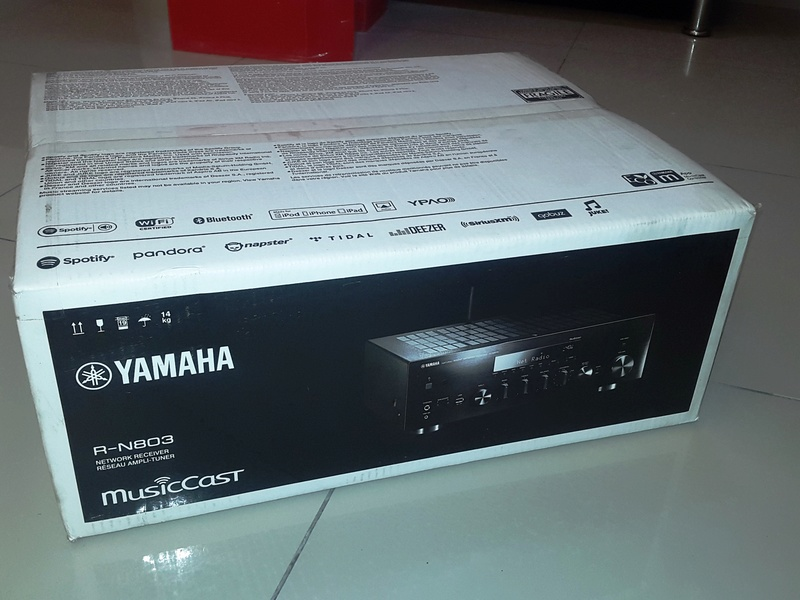 Yamaha R-N803 Hifi Stereo Amplifier/Network Receiver (Brand New Condition) 20180610