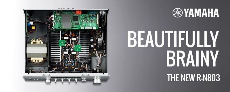 Yamaha R-N803 Hifi Stereo Amplifier/Network Receiver (Brand New Condition) Av128710