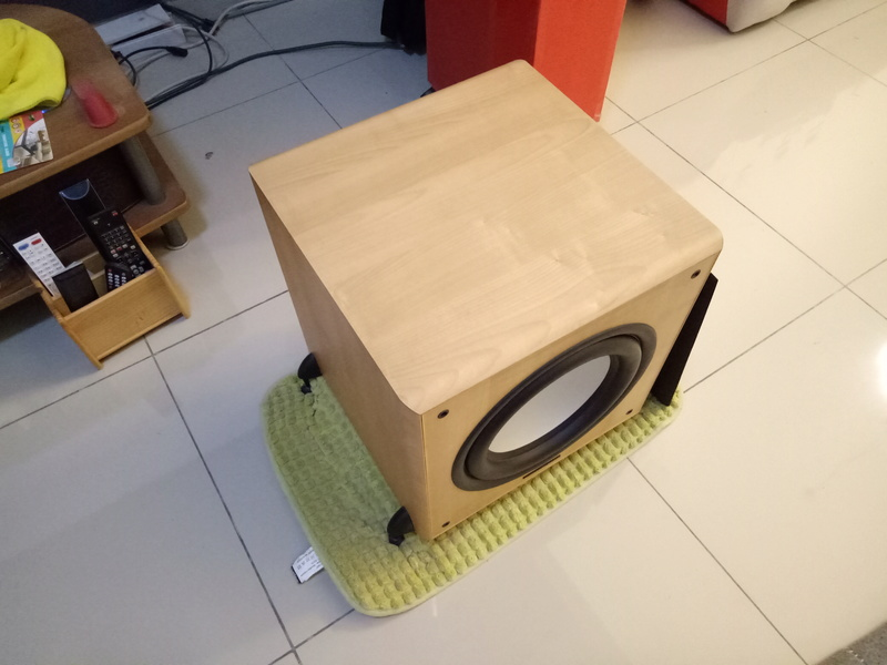 Mordaunt Short MS909W Subwoofer-Used & In New Condition-Made in England Model Img20127