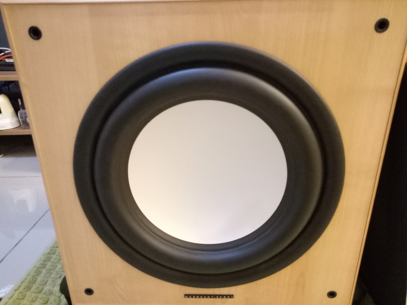 Mordaunt Short MS909W Subwoofer-Used & In New Condition-Made in England Model Img20130