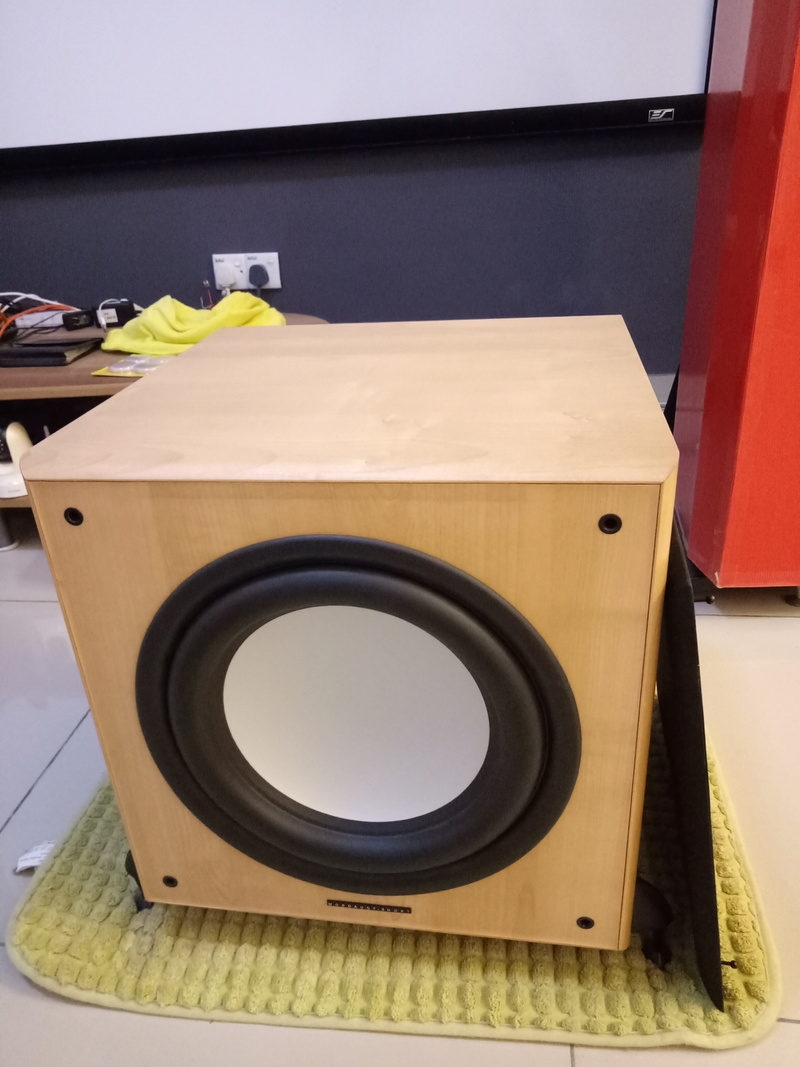 Mordaunt Short MS909W Subwoofer-Used & In New Condition-Made in England Model Img20131