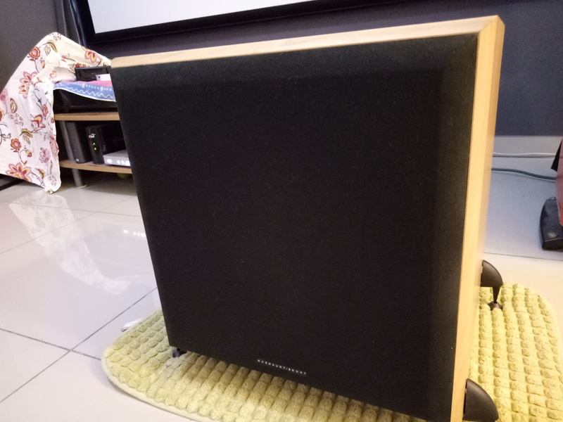 Mordaunt Short MS909W Subwoofer-Used & In New Condition-Made in England Model Img20132