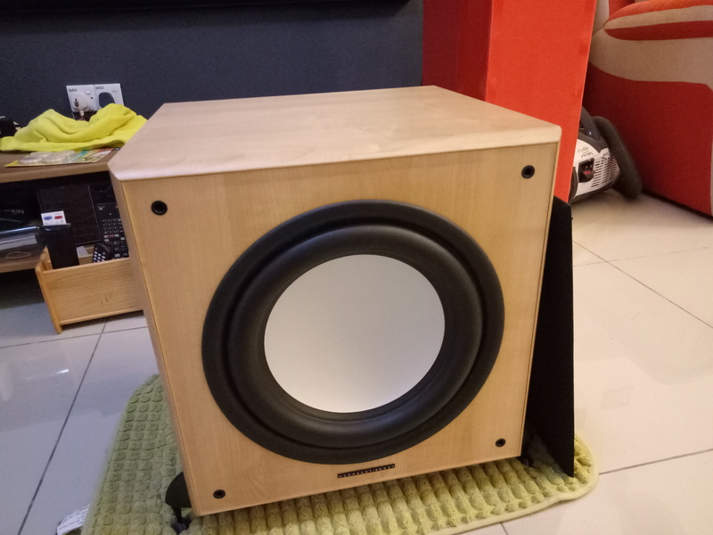 Mordaunt Short MS909W Subwoofer-Used & In New Condition-Made in England Model Img20134