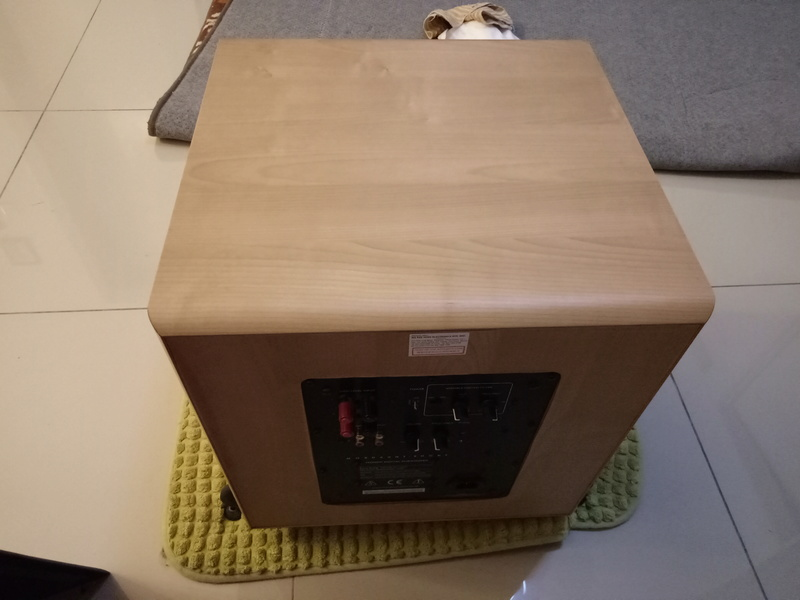 Mordaunt Short MS909W Subwoofer-Used & In New Condition-Made in England Model Img20135