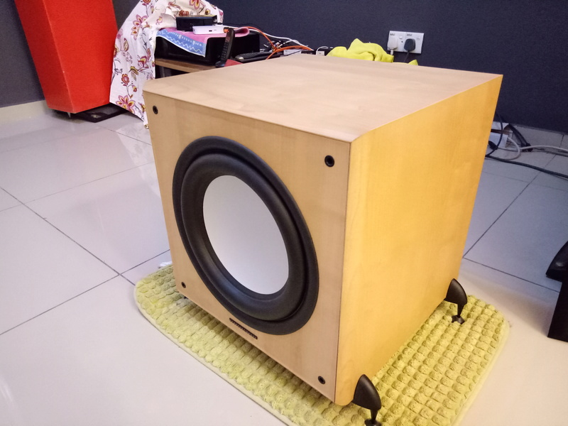 Mordaunt Short MS909W Subwoofer-Used & In New Condition-Made in England Model Img20136
