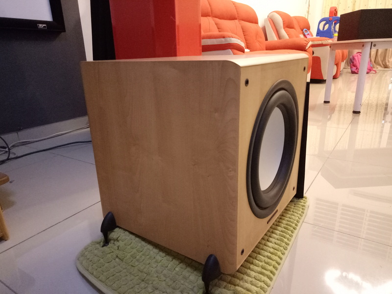 Mordaunt Short MS909W Subwoofer-Used & In New Condition-Made in England Model Img20140