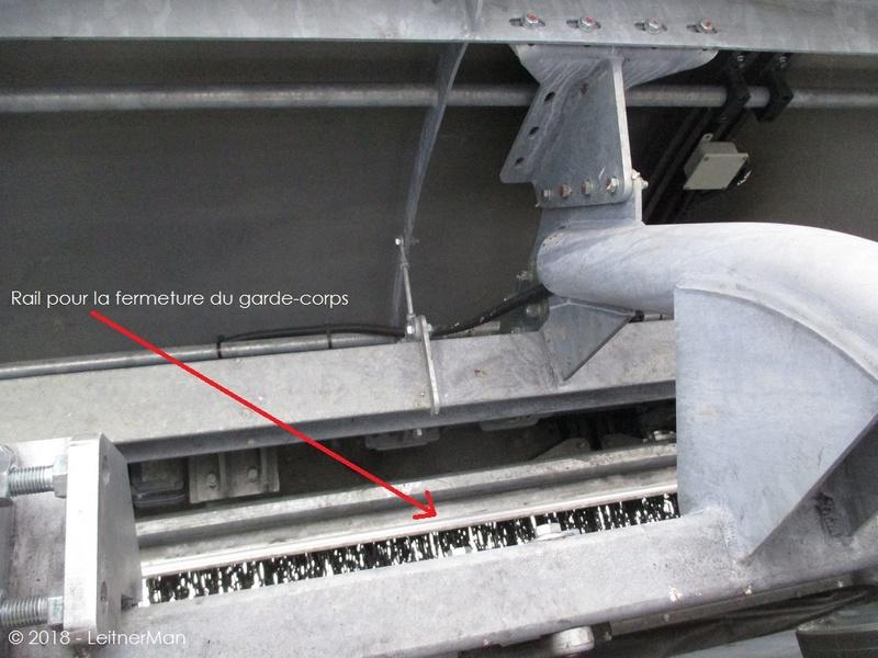 Gare tension télésièges débrayables Leitner 1112
