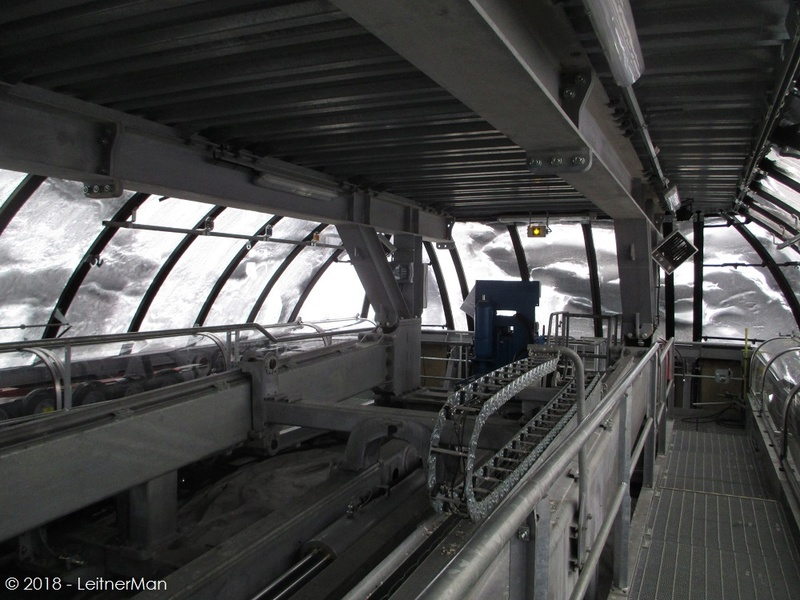 Gare tension télésièges débrayables Leitner 112