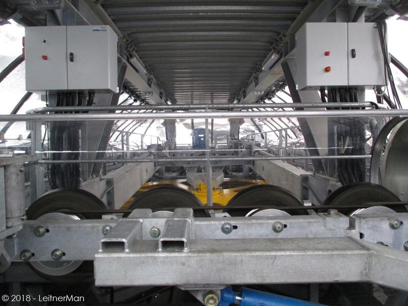 Gare tension télésièges débrayables Leitner 312