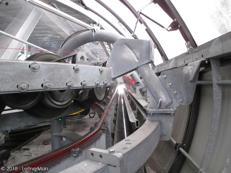 Gare tension télésièges débrayables Leitner 412