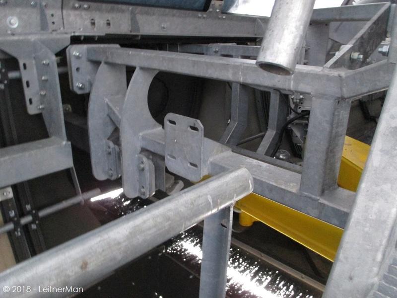 Gare tension télésièges débrayables Leitner 812