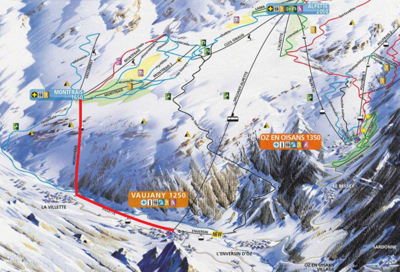 Rénovation TCD6 de Montfrais - Vaujany (Alpe d'Huez Grand Domaine Ski) Pdpvo10