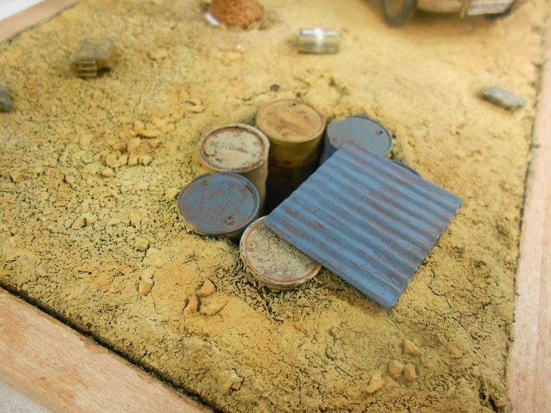 Coccinelle CMK, kit amélioration EDUARD + CMK intérieur figurine HORNET + VERLINDEN décor fait maison - 1/35 - Page 2 Coc_et11