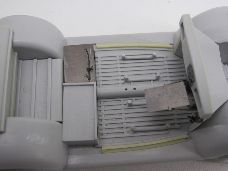Coccinelle CMK, kit amélioration EDUARD + CMK intérieur figurine HORNET + VERLINDEN décor fait maison - 1/35 Cocinn17