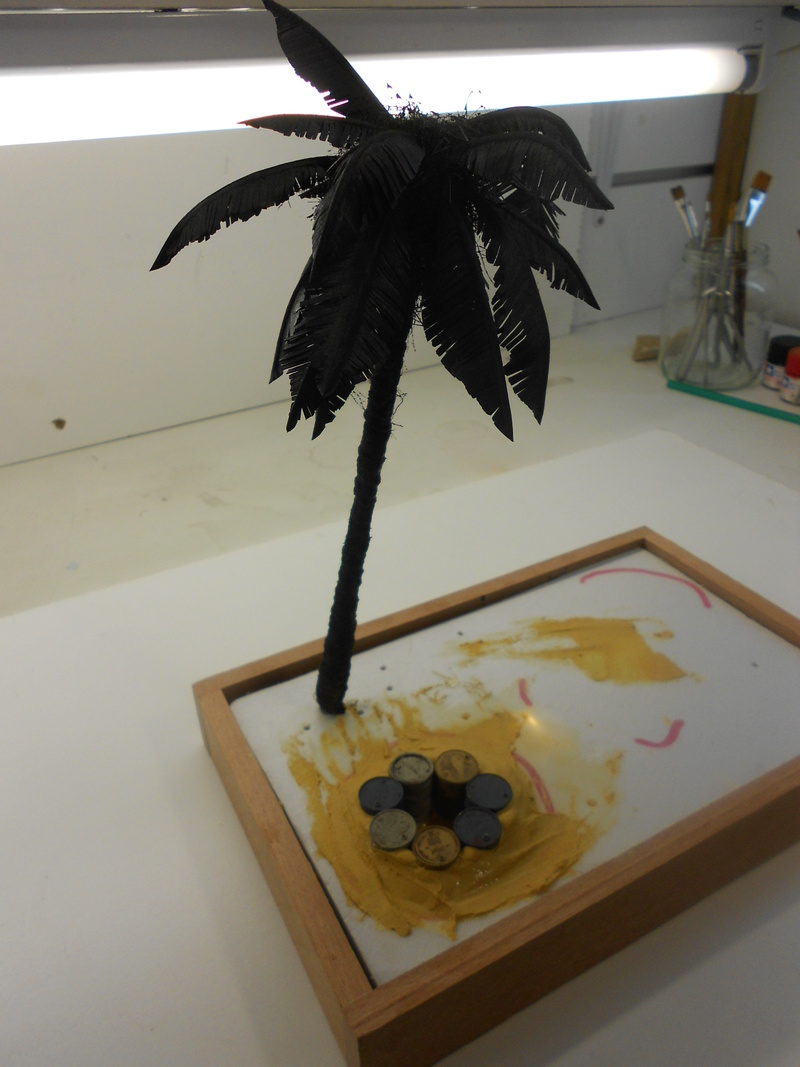 Coccinelle CMK, kit amélioration EDUARD + CMK intérieur figurine HORNET + VERLINDEN décor fait maison - 1/35 Cocinn19