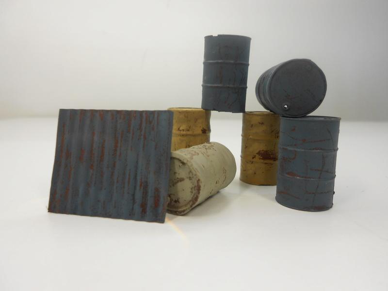 Coccinelle CMK, kit amélioration EDUARD + CMK intérieur figurine HORNET + VERLINDEN décor fait maison - 1/35 Cocinn22