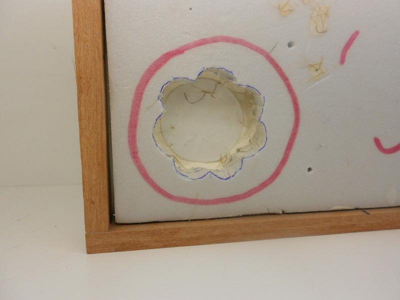 Coccinelle CMK, kit amélioration EDUARD + CMK intérieur figurine HORNET + VERLINDEN décor fait maison - 1/35 Cocinn28
