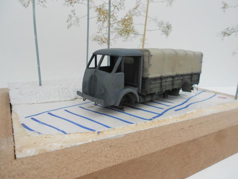Propagande Finlande 1941 - Matford Azimut, figurines Verlinden, MK 1/35, Cromwell  Matfor18