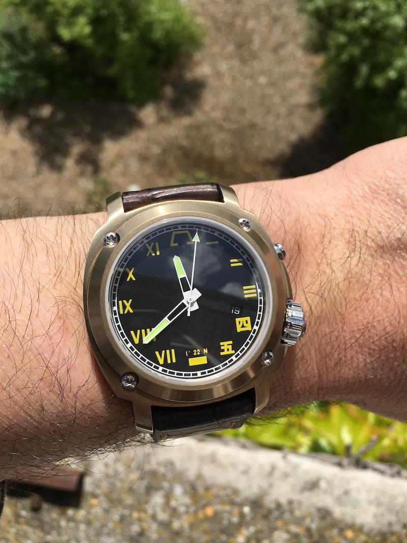 Les matériaux de nos montres - Partie IV : le Bronze - Page 2 Img_1310