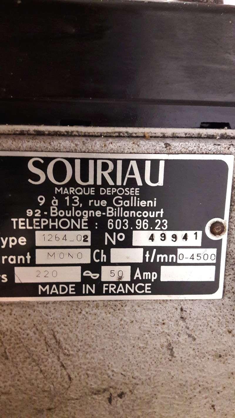 Banc Souriau et condensateurs 20170610