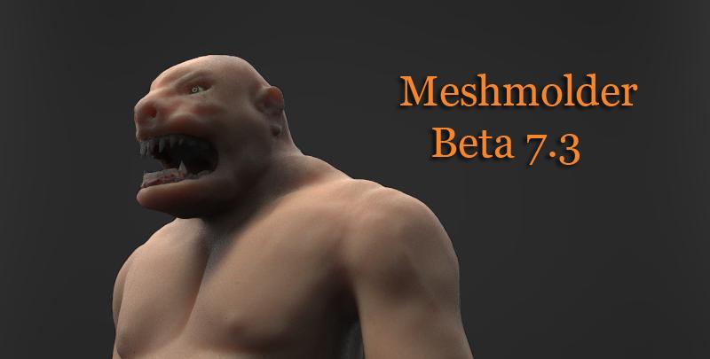 Release Meshmolder 7.3 32 bits and 64 bits Ogre1_10