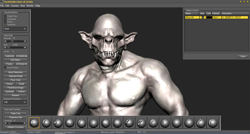 Meshmolder Beta 8 in development  Screen12