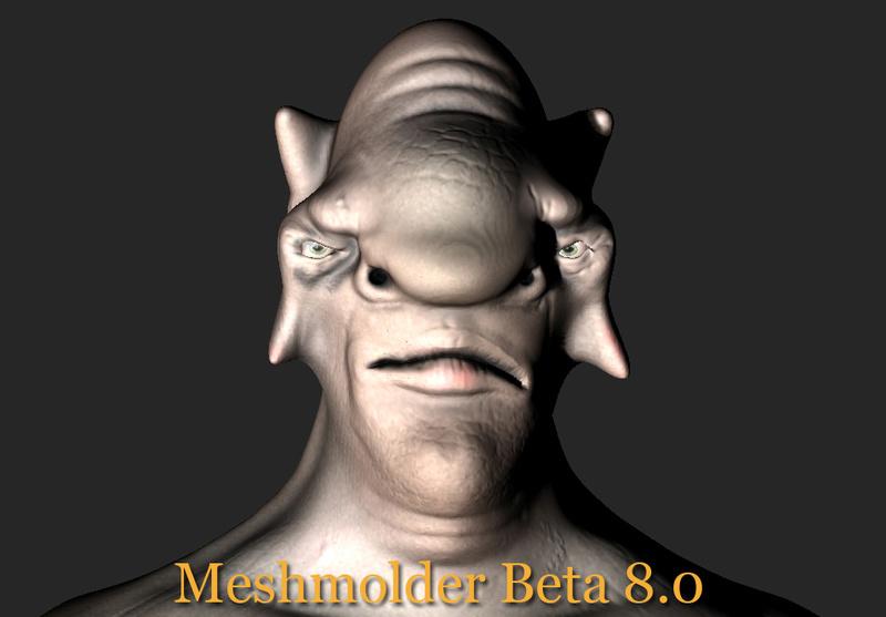 Meshmolder Beta 8 in development  Tubama10
