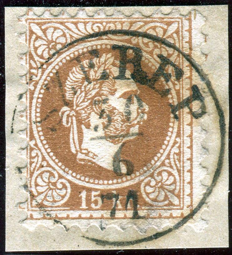 Freimarken-Ausgabe 1867 : Kopfbildnis Kaiser Franz Joseph I - Seite 18 1807_s10