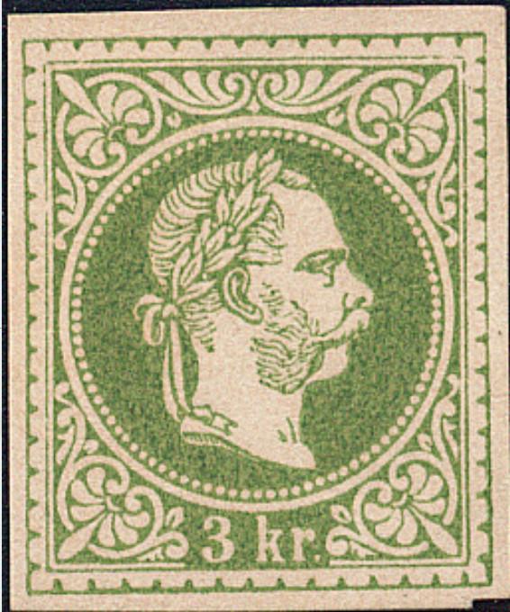 Freimarken-Ausgabe 1867 : Kopfbildnis Kaiser Franz Joseph I - Seite 18 1867_311