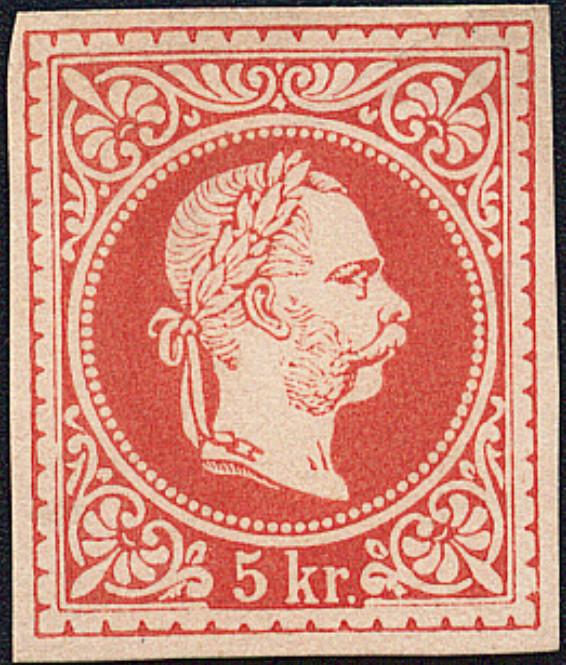 Freimarken-Ausgabe 1867 : Kopfbildnis Kaiser Franz Joseph I - Seite 18 1867_313