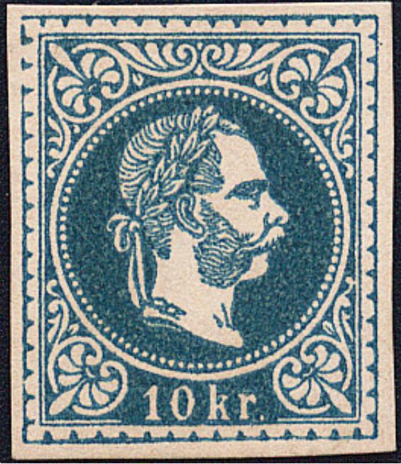 Freimarken-Ausgabe 1867 : Kopfbildnis Kaiser Franz Joseph I - Seite 18 1867_314