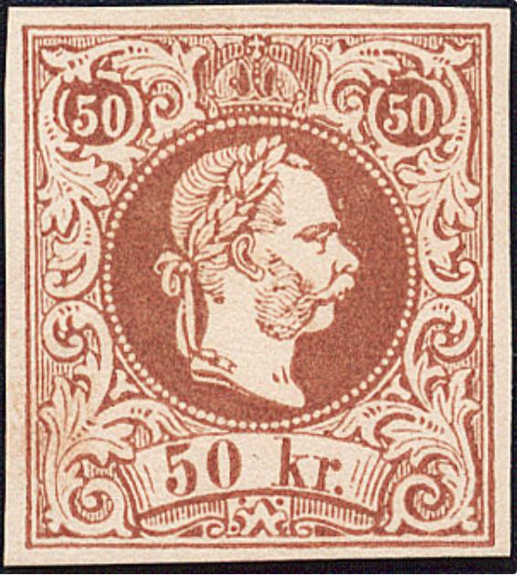 Freimarken-Ausgabe 1867 : Kopfbildnis Kaiser Franz Joseph I - Seite 18 1867_410