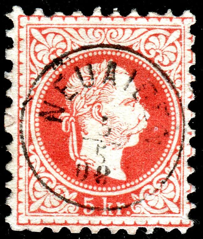 Freimarken-Ausgabe 1867 : Kopfbildnis Kaiser Franz Joseph I - Seite 18 3227a10