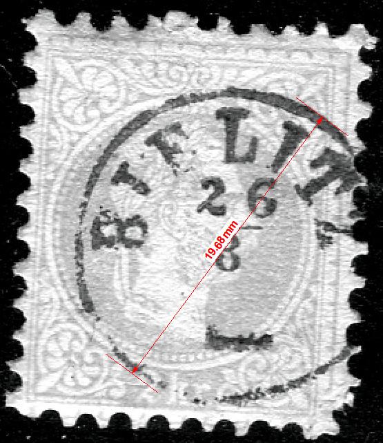 Freimarken-Ausgabe 1867 : Kopfbildnis Kaiser Franz Joseph I - Seite 19 Bielit11