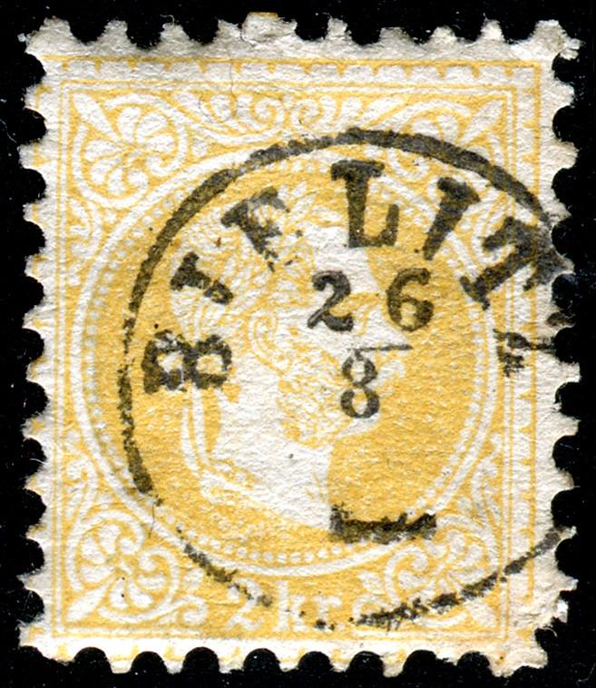 Freimarken-Ausgabe 1867 : Kopfbildnis Kaiser Franz Joseph I - Seite 19 Bielit13