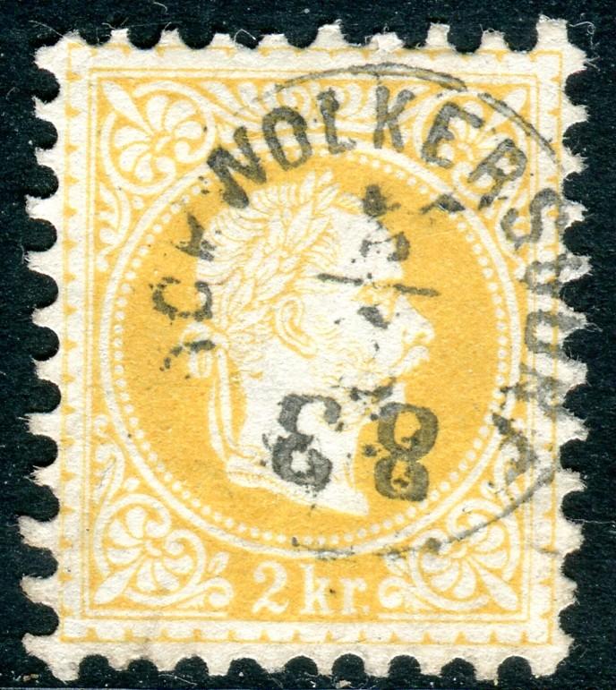 Freimarken-Ausgabe 1867 : Kopfbildnis Kaiser Franz Joseph I - Seite 19 Hochwo10