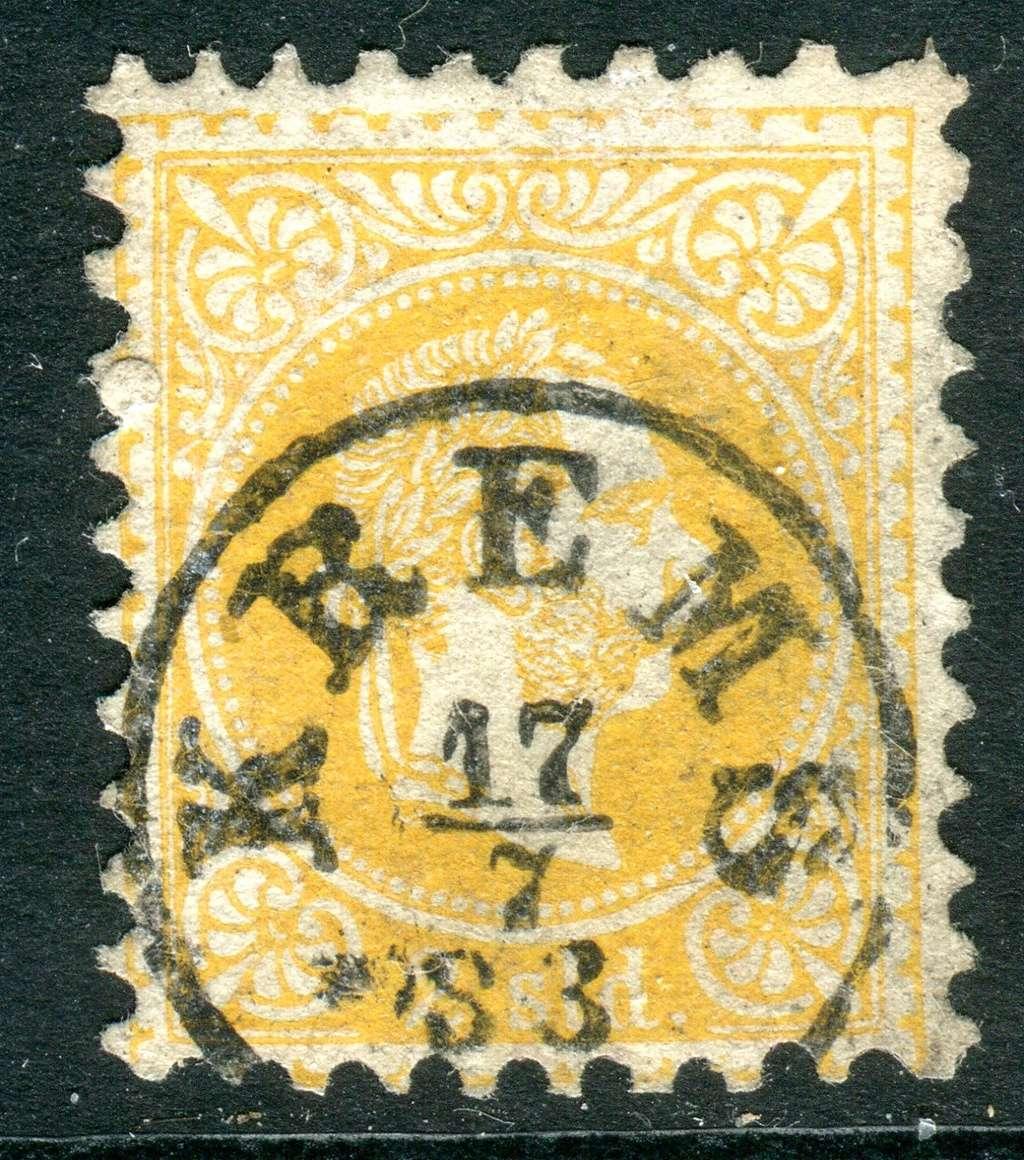 Freimarken-Ausgabe 1867 : Kopfbildnis Kaiser Franz Joseph I - Seite 19 Krems_13