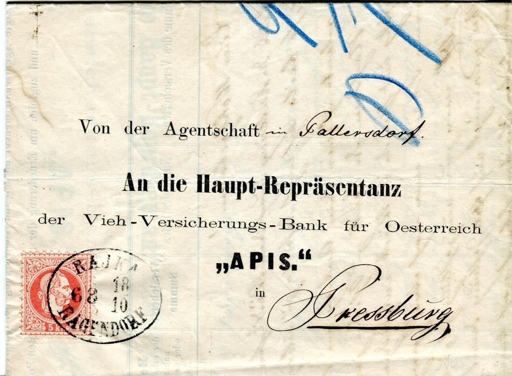 Briefe / Poststücke österreichischer Banken - Seite 4 Scann016