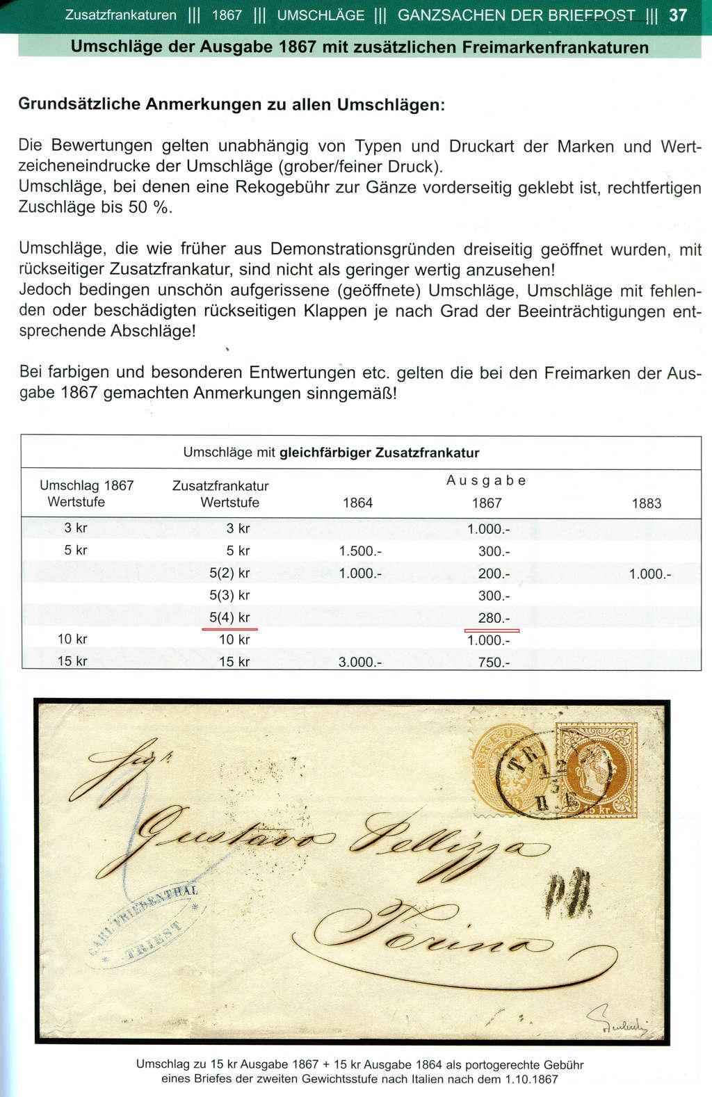 Freimarken-Ausgabe 1867 : Kopfbildnis Kaiser Franz Joseph I - Seite 18 Z010410