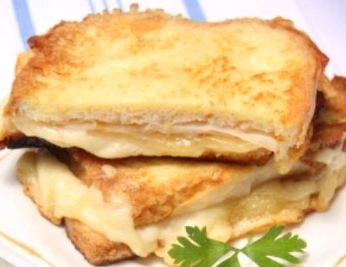 Croque camembert, pommes et calvados... 29793010