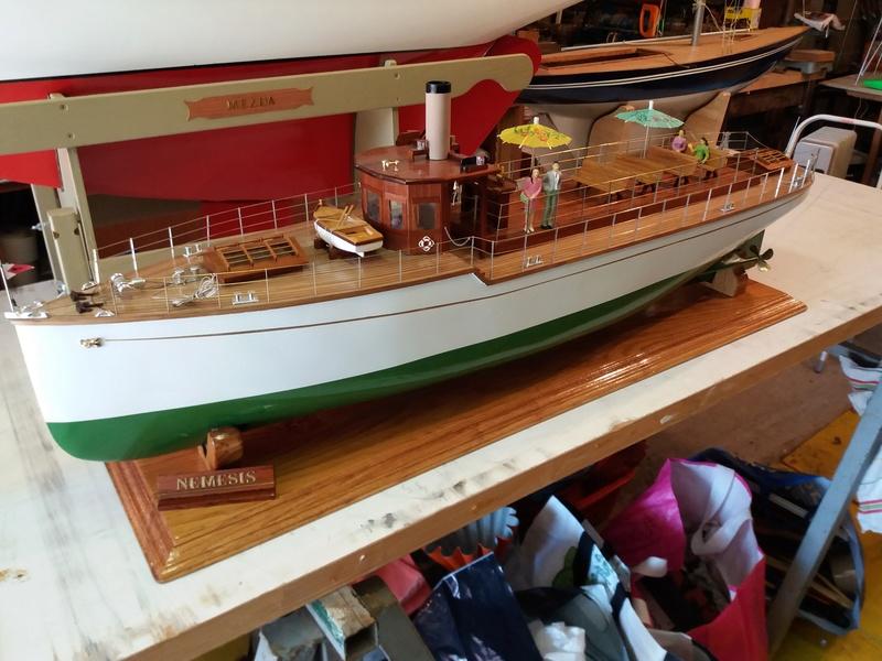 Némésis   motor yacht classique 20170515