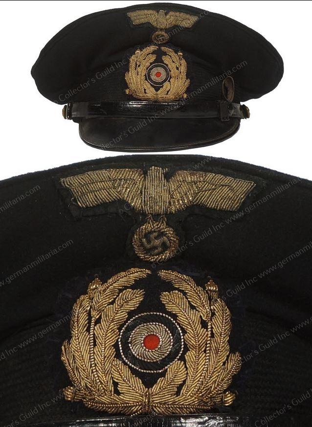 Casquette Officier Marinier KM Nco_vi13