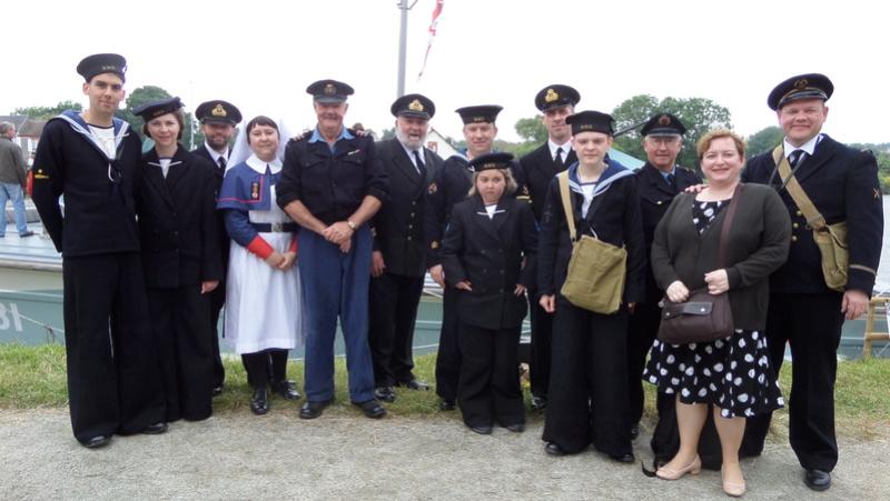 Les femmes au service de la Royal Navy: Wrens, QARNNS Sam_0810