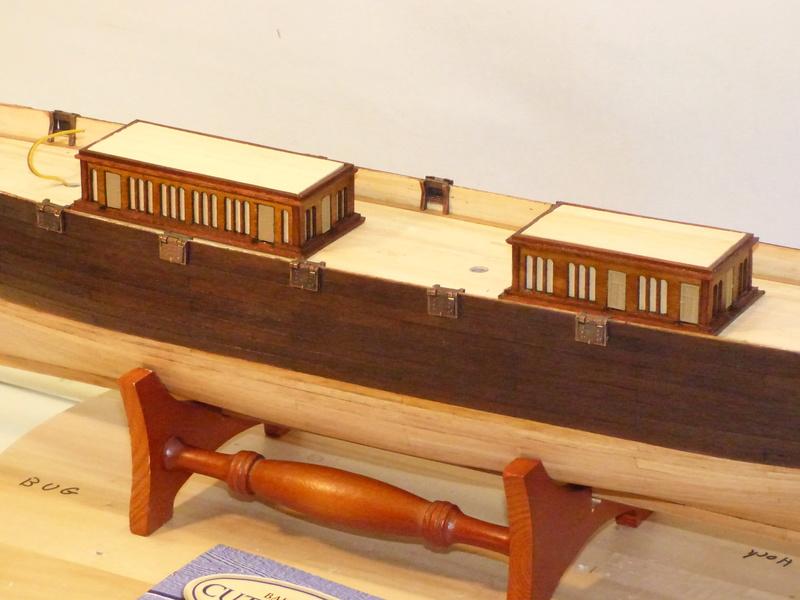 Meine Cutty Sark von delPrado wird gebaut - Seite 3 Deck_214