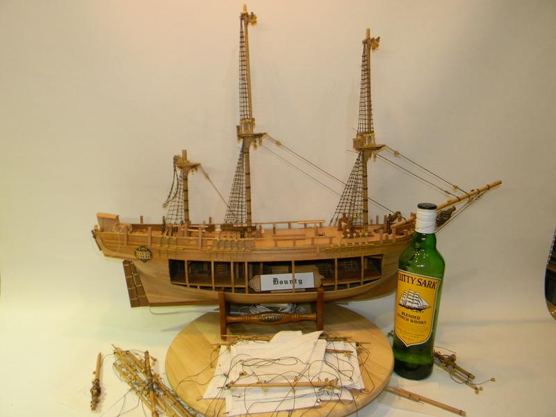 HMS Bounty 1:46 delPrado Dscn5710
