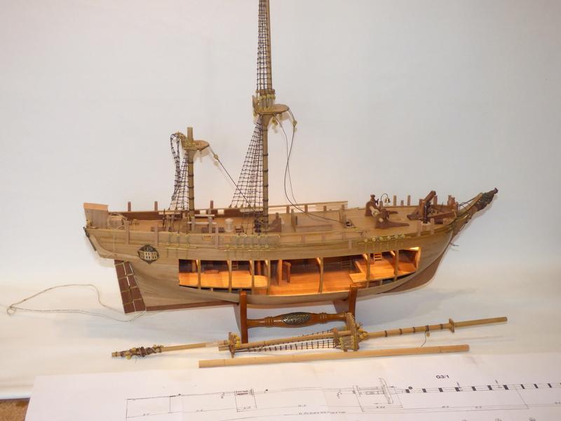 HMS Bounty 1:46 delPrado P1000415