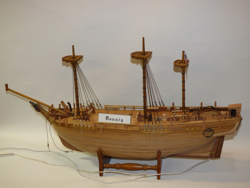 HMS Bounty 1:46 delPrado - Seite 3 P1000523