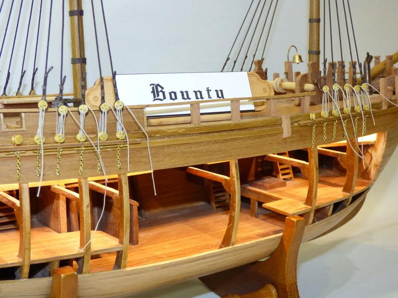 HMS Bounty 1:46 delPrado - Seite 3 P1000526