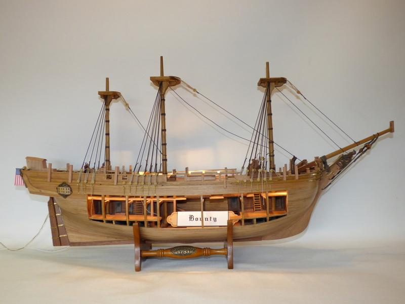 HMS Bounty 1:46 delPrado - Seite 3 P1000622