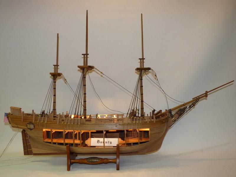 HMS Bounty 1:46 delPrado - Seite 3 P1000623